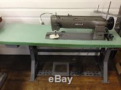 Consew 255-rbl 18-inch Longbed Walking Foot 110v Servo Industrial Sewing Machine