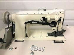 Consew 255rb-2 Walking Foot Big Bobbin +reverse 110v Industrial Sewing Machine