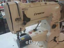 Consew 287rb Walking Foot Cylinder Arm Industrial Sewing Machine Leather, Binder