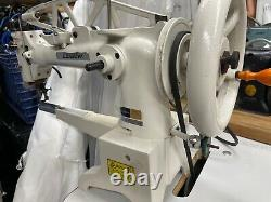 Consew 29 Cylinder Arm Shoe Sewing Machine and Landis cutter