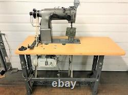 Consew 329r-1 2n Postbed 3/8 Needle Feed 110v Servo Industrial Sewing Machine
