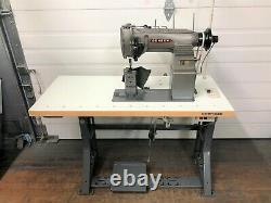 Consew 329r-1 2n Postbed 5/16 Needle Feed 110v Servo Industrial Sewing Machine