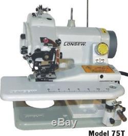 Consew 75T Portable Blind stitch, chain-stitches, Sewing Machine