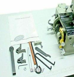 Consew DCS-S4 Leather Skiving Machine with table and motor