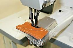 Cylinder Walking Foot big bobbin Sewing machine Tag #4963