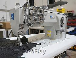 DURKOPP ADLER 867 Double Needle Walking Foot Sewing Machine NEW Complete