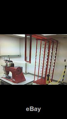 David Almond Refurbished Industrial Venor Tufted Carpet Loop Pile Sewing Machine