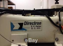 Directron SC 500 industrial programable sewing machine
