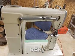 Double Needle Sewing Machine TechSew 810-2-HEAD ONLY