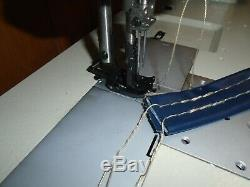 Double Needle Walking Foot Industrial Sewing Machine 3/8 Top Stitch Head Only