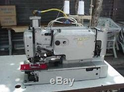 Durkopp 556-5121-E63 1/4 1 Buttonhole High Speed Industrial Sewing Machine