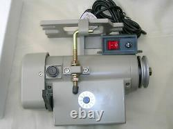 Electronic Servo Industrial Sewing Machine Adjustable Motor 1/2 HP RPM 0-3600