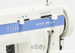 FAMILY SUPER ZIG-ZAG and Straight Stitch Portable Walking Foot Sewing Machine