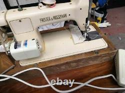 Frister Rossmann Semi Industrial Heavy Duty Upholstery And Fabric Sewing Machine