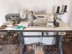 Golden Wheel Chee Siang Industrial Sewing Machine with Motor, Table great $ deal