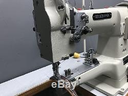 Golden Whisk GW-335B Industrial Sewing Machine Leather Table & Motor