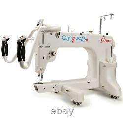 Grace Q'Nique 15R Quilting Machine with better bonus bundle