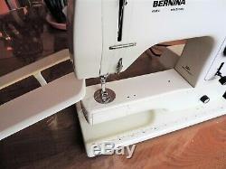HEAVY DUTY INDUSTRIAL STRENGTH BERNINA MODEL 801 matic SEWING MACHINE + CASE