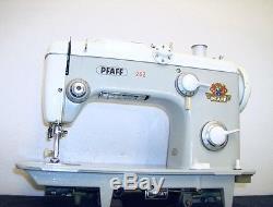 HEAVY DUTY INDUSTRIAL STRENGTH PFAFF MODEL 262 SEWING MACHINE