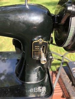 HEAVY DUTY INDUSTRIAL STRENGTH SINGER 192k SEWING MACHINE Denim Leather ETC