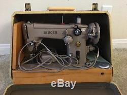 HEAVY DUTY INDUSTRIAL STRENGTH SINGER 306k SEWING MACHINE with CASE