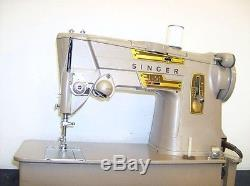 HEAVY DUTY INDUSTRIAL STRENGTH SINGER 328k SEWING MACHINE Denim Upholstery