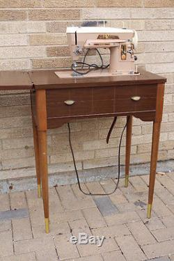 HEAVY DUTY INDUSTRIAL STRENGTH SINGER 503a SEWING MACHINE 503 in Cabinet