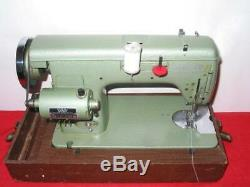 HEAVY DUTY White 666 INDUSTRIAL STRENGTH SEWING MACHINE, leather, upholstery