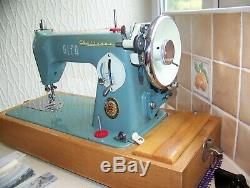 Heavy Alfa Challenge S/s Heavy Duty Semi Industrial Sewing Machine, Serviced