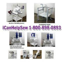 Heavy Duty Embroidery Machine Stand Brother PRS100 Babylock Alliance New