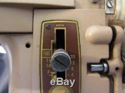 Heavy Duty Industrial Singer 403A Slant Sewing Machine Power Tested