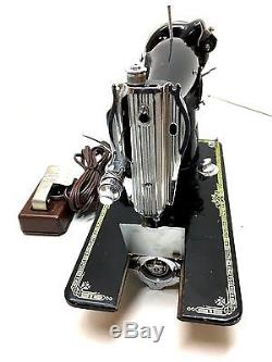 Heavy Duty Industrial Strength Antique Vintage Sewing Machine Sew Leather & More