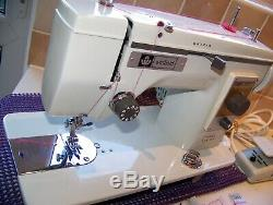 Heavy Newhome Winfield Fw161 Steel/brass Gears Zz Semi Industrial Sewing Machine
