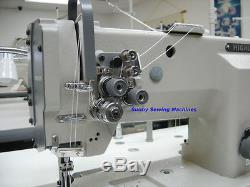 Highlead GC20618-2 Double Needle Leather Sewing Machine with Servo Motor 1/4