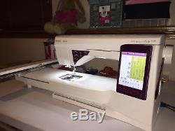 Husqvarna Viking Designer Ruby Royale Electronic Sewing Machine