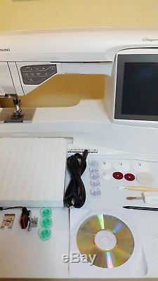 Husqvarna Viking Designer Ruby Sewing Machine Only (used)