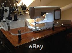 Husqvarna Viking Ruby Embroidery Sewing Machine Like new Only 63hrs of use
