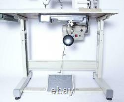 IKonix KS335A Walking Foot Cylinder Bed Industrial Sewing Machine Complete Stand