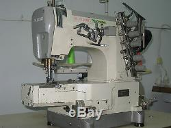 Industrial Pegasus W664-03fb, 3 Needle Cover Stitch Sewing Machine. Japan
