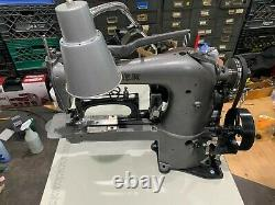 INDUSTRIAL SINGER PROFESSIONAL Refurb. COMMERCIAL SEWING MACHINE WithCLUTCH MOTOR