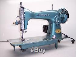 INDUSTRIAL STRENGTH HEAVY DUTY SEWING MACHINE 16oz Leather 3/8 Lift