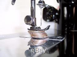 INDUSTRIAL STRENGTH HEAVY DUTY SEWING MACHINE 18oz Leather 5/16 Lift EXC Cond
