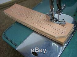 INDUSTRIAL STRENGTH HEAVY DUTY SEWING MACHINE up to 16oz Leather with 3/8 Lift