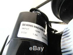 INDUSTRIAL STRENGTH HEAVY DUTY SINGER 201k SEWING MACHINE 16oz Leather WOW WOW