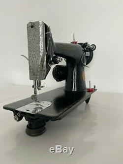 INDUSTRIAL STRENGTH HEAVY DUTY SINGER 201k SEWING MACHINE OLD SCHOOL