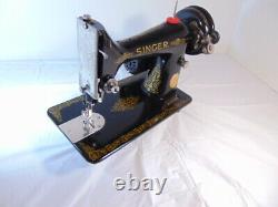 INDUSTRIAL STRENGTH HEAVY DUTY SINGER SEWING MACHINE 14 oz Leather WOW