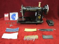 INDUSTRIAL STRENGTH SINGER 15 sewing machine HEAVY DUTY for upholstery leather