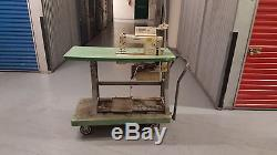 Industrial Juki Sewing Machine With Motor and Table