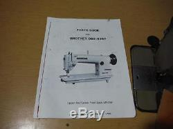 Industrial Leather Sewing Machine Brother DB2-B797 Walking Foot Reverse Used
