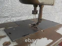 Industrial Sewing Machine 212W140 grey, two needle -Leather